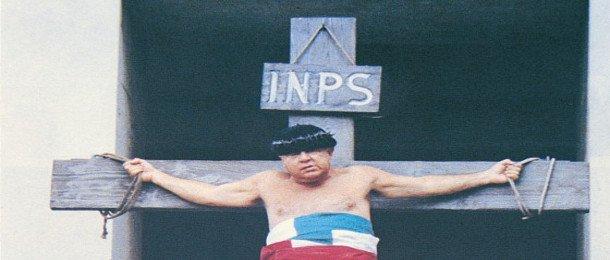 Il bellissimo e non funzionante sito dell'INPS (Istituto Nazionale Previdenza Sociale)