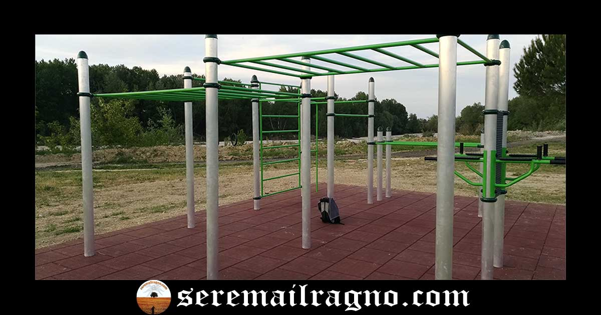 Nuova struttura per Calisthenics & Street Workout a Molini Girola