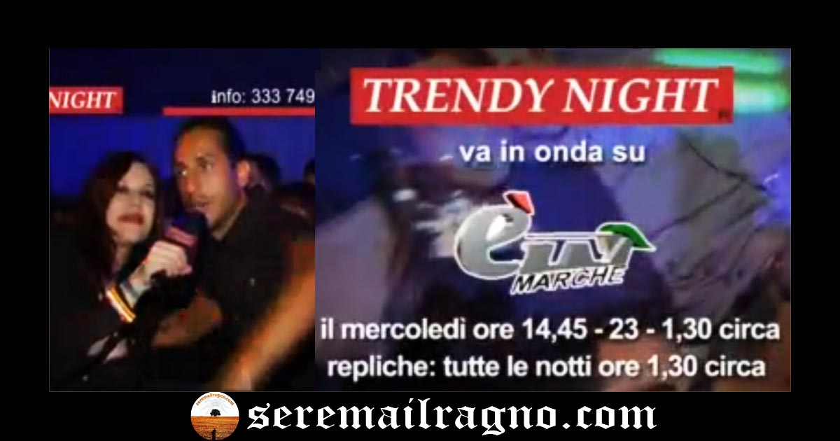 L'ostentazione trash e il decadimento di Trendy Night