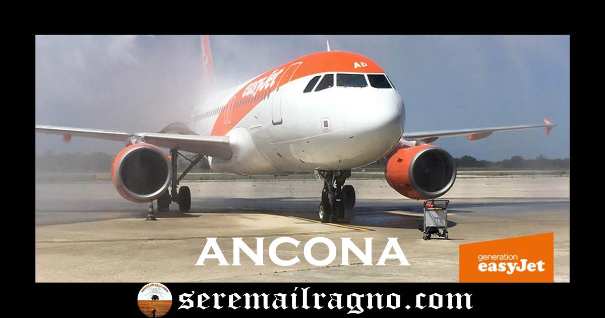 EasyJet atterra per la prima volta in Ancona