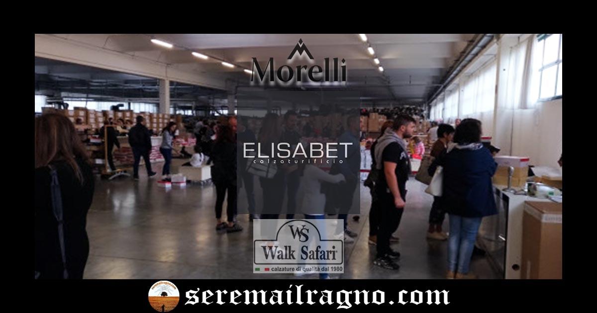Monte Urano: 5-6-7 Ottobre vendita campionario Calzaturificio Elisabet
