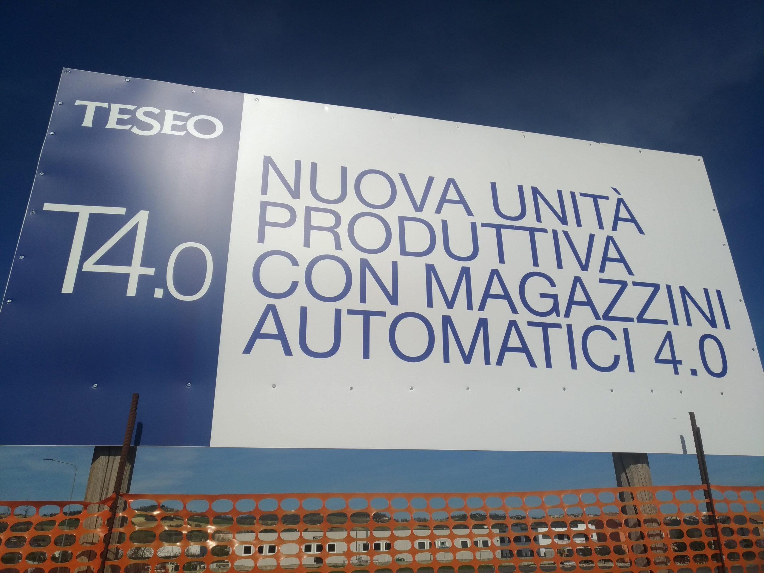 Teseo T4.0 – Nuova unità produttiva con magazzini automatici