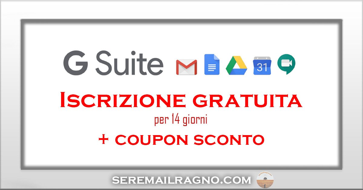 Smart Working e Coronavirus: i tool di G Suite Basic e Business gratis per 14 giorni