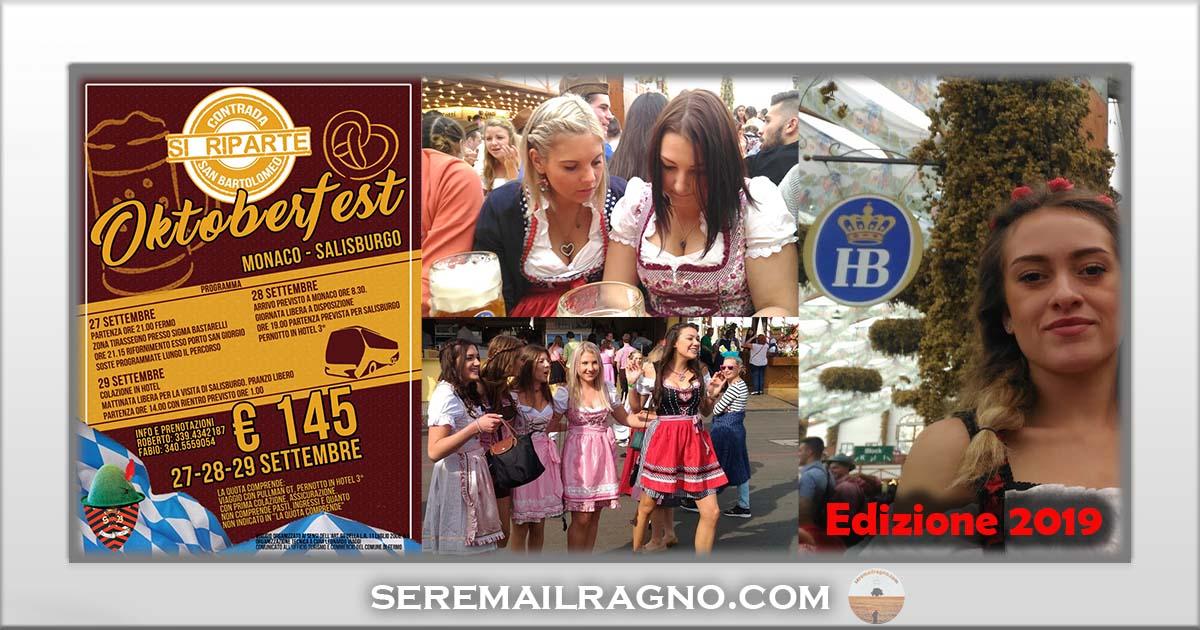 Oktoberfest in pullman – Dal 27 al 29 Settembre 2019