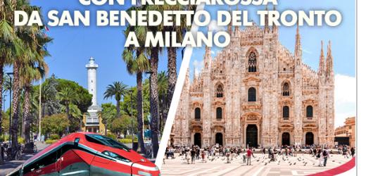 Freccia Rossa da San Benedetto del Tronto a Milano