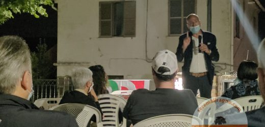 I candidati alle regionali Francesco Giacinti e Annalinda Pasquali incontrano i cittadini