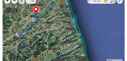 Anello del fermano: cicloturismo in Provincia di Fermo